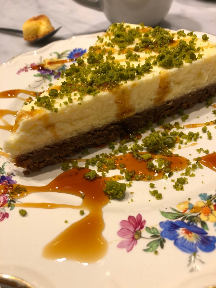 Photo, cheesecake, CHYL; présentation