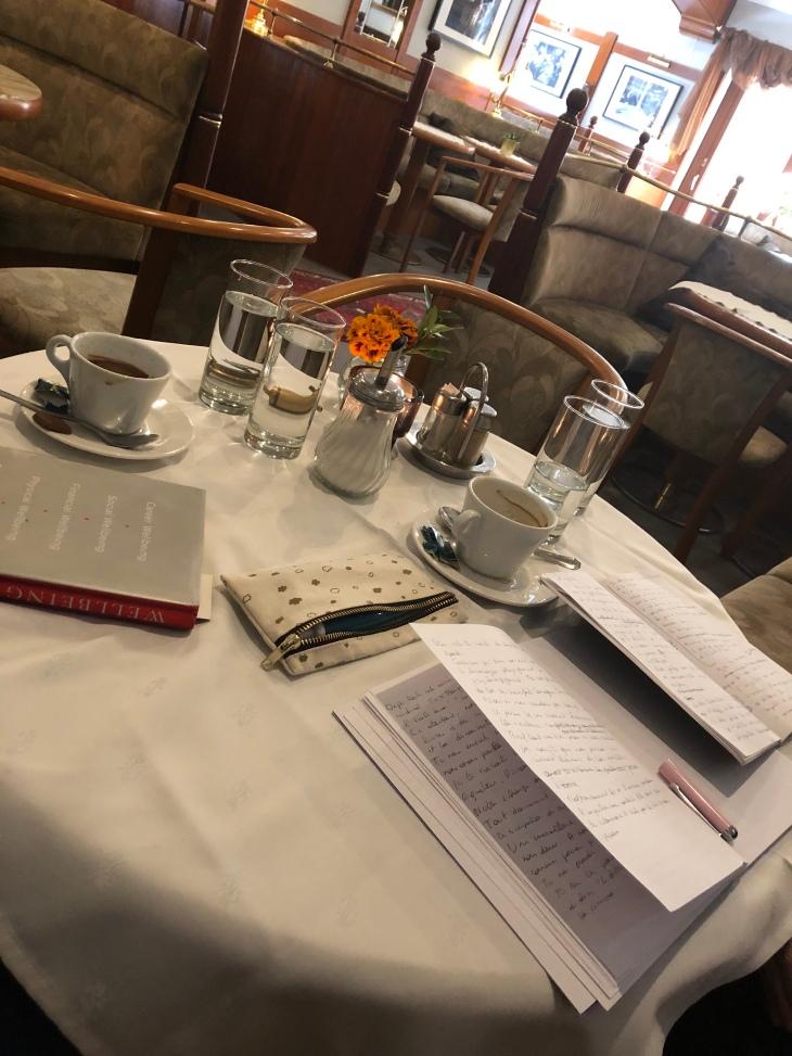 Retraite d'écriture. Table des écrivains