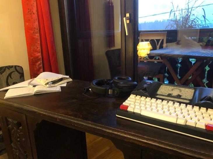 Écrire, suite chambre d'hôtel. Retraite d'écriture